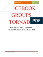 Facebook Groups Tornado