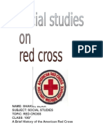 History of Red Cross