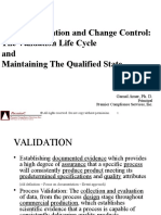 Validation Change Control Maintaining The Validate  State-09-2015.pptx