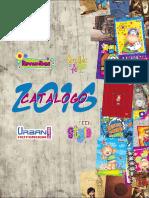 Catalogo Cuadernos Olito 2016