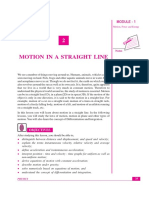 motion in 1 - D.