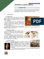 Tema La Prehistoria y La Edad Antigua