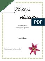 Belleza Auténtica_libro Español