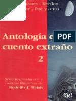 [Antologia Del Cuento Extrano 02] AA. VV. - Antologia Del Cuento Extrano 2 [15729] (r1.1)