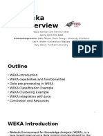 Weka Overview Slides