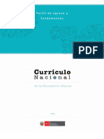 Fundamentos Del Curriculo Nacional