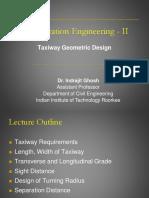 CE-461 CE-461 Taxiway Geometric Design(1)