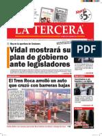 Diario La Tercera 01.03.2016