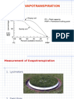 CE-341 Evapotranspiration & RWH