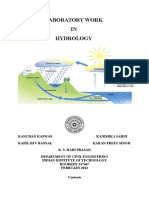 CE-341 Hydrology Lab Manual Final