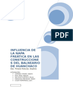 Documents.mx Influencia de La Napa Freatica en Las Construcciones Del Balneario de Huanchaco