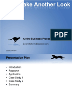 Airline Business Process Optimization