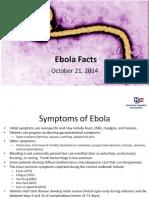 Ebola Facts 2014