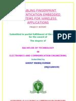 Manoj Kumar Technical Report