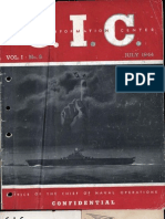 Naval Combat Operations - Jul 1944
