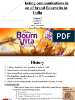 Evolution of Brand Bournvita Group5