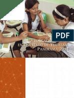 Situacion de La Educacion Basica en el Estado de Yucatan. Panorama 2014