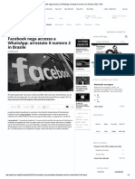 Facebook Nega Accesso a WhatsApp_ Arrestato Il Numero 2 in Brasile _ Sky TG24