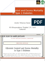 DM type 1 mortality