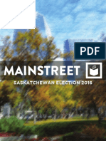Mainstreet Research - Saskatchewan Election 2016