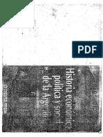 Rapoport, Mario. Historia Económica, Política y Social de La Argentina (1880 – 2000). Parte 1