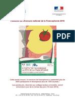 palmares francophonie 2016