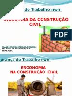 Palestra Ergonomia Na Construção Civil - Segurança Do Trabalho Nwn