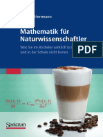 Mathematik fuer Naturwissenschaftler