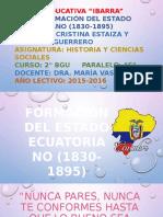 Formación Del Estado Ecuatoriano 1