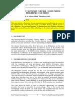 Module 1-1_1b Case Study - Village Level Travel Philippines