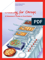 04  cooking for groups a volunteers guide to food safety - cooking for groups