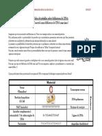 Ficha de Trabalho Sobre Bibliotecas de DNA vs Prof