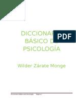 Diccionario Basico de Psicologia
