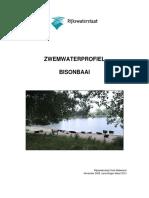 Zwemwaterprofiel Bisonbaai 2010
