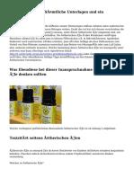 Ätherische Öle - Sämtliche Unterlagen und ein Überblick