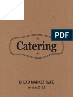 Bread Market Catering Menu