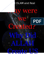 why did ALLAH Create Mankind