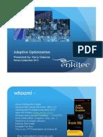 12c Adaptive Optimization