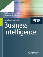 Fundamentals of Business Intelligence [2015]