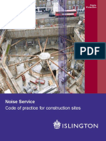 (2006!09!21) Noise - Code of Practice for Construction Sites
