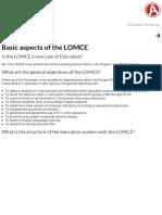 Macmillan ELT _ FAQ About the Lomce - Basic Aspects of the LOMCE