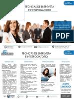Curso Técnicas de Entrevista e Interrogatorio