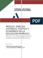 Análisis Histórico, Político y Económico de La Educación en México