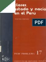 Cotler Jilio_Clases Estado y Nacion en El Peru_pp335-390