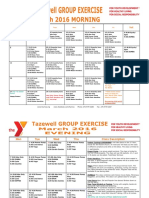Tazewell March 2016 Group Exercise