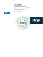 20Minutos BlogCompetition 2015 Statistics with Excel and R
