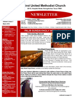 Newsletter for March 2016