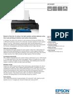 L1800 ITS Printer Datasheet