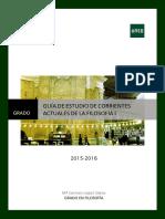 Corrientes I. Guía II