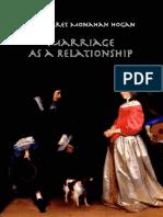 Hogan, Margaret Monahan - Marriage as a Relationship